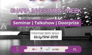 Sharia Investment Week 2019